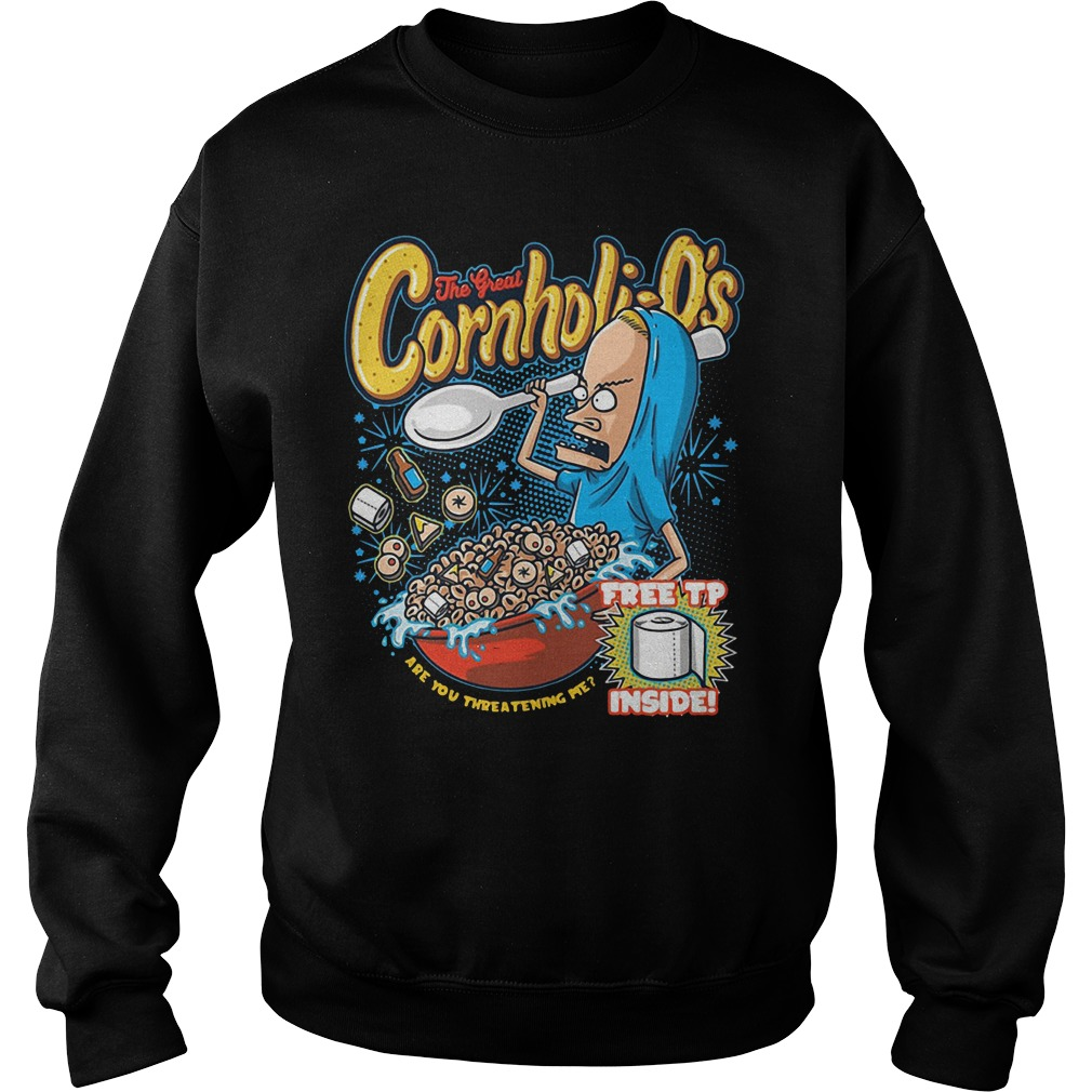 Beavis And Butthead Great Cornholio Are You Threatening Me Sweater