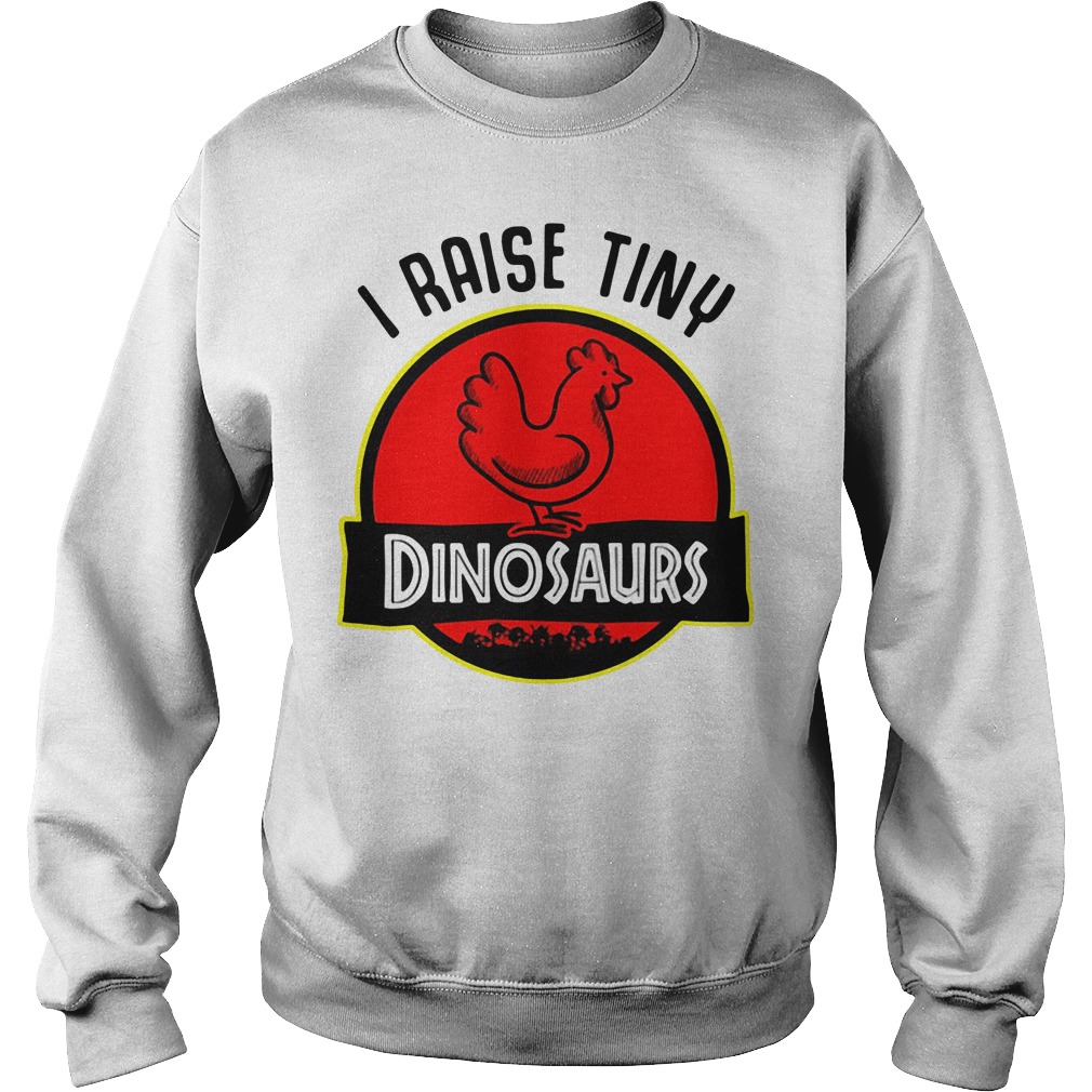 Chicken I Raise Tiny Dinosaurs Sweater