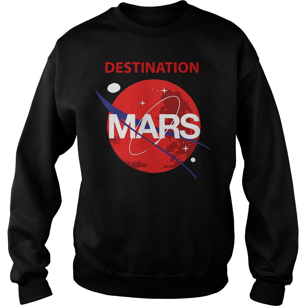 Destination Mars Nasa Buzz Space Travel Planetary Sweater