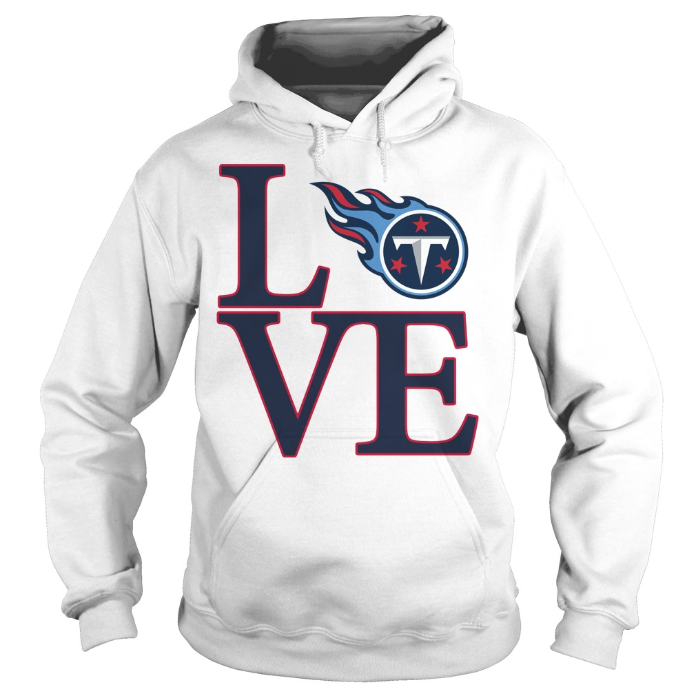 Love Tennessee Titans Hoodie
