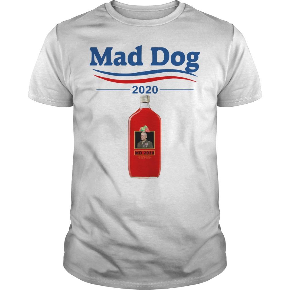 Mad Dog Mattis Petraeus 2020 Guys shirt