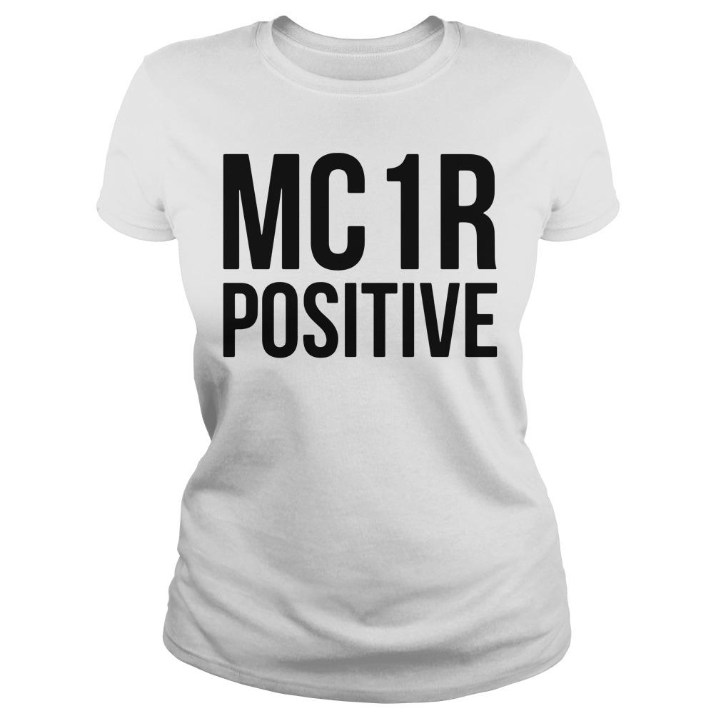 Mc 1r Positive Ladies Tee