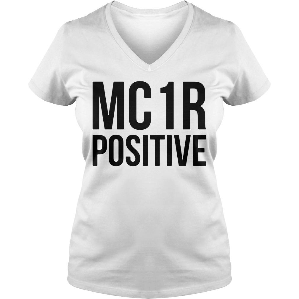 Mc 1r Positive V-neck T-shirt