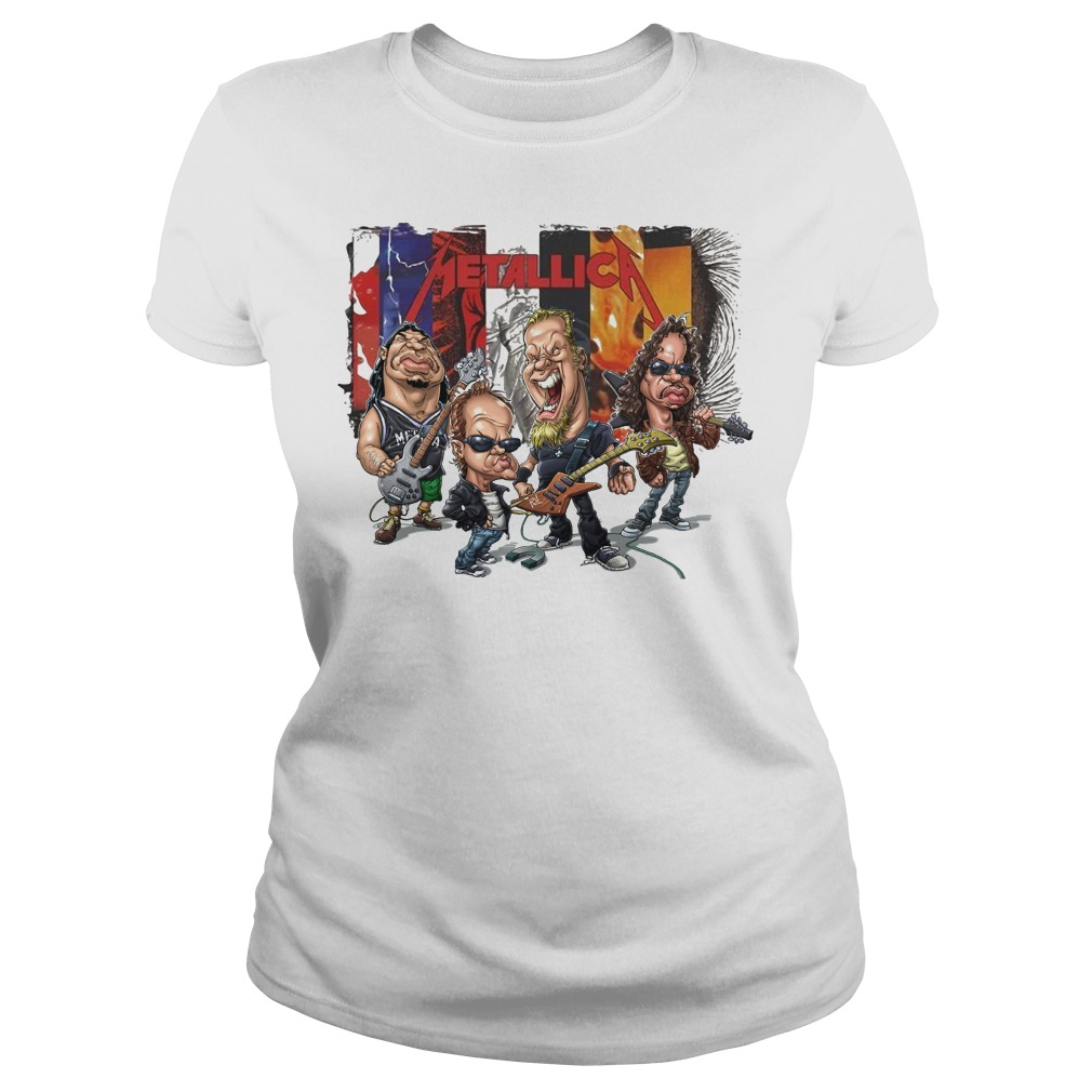 Metallica Chibi Ladies Tee