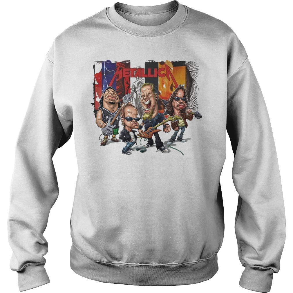 Metallica Chibi Sweater