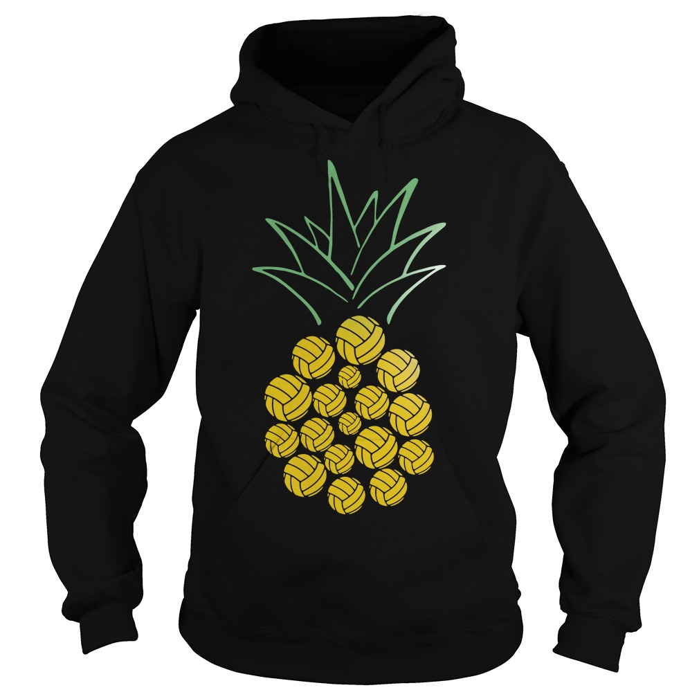 Pineapple Volleyball Hoodie