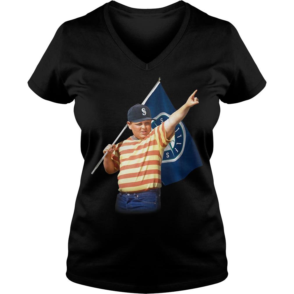 Seattle Mariners The Sandlot V-neck T-shirt