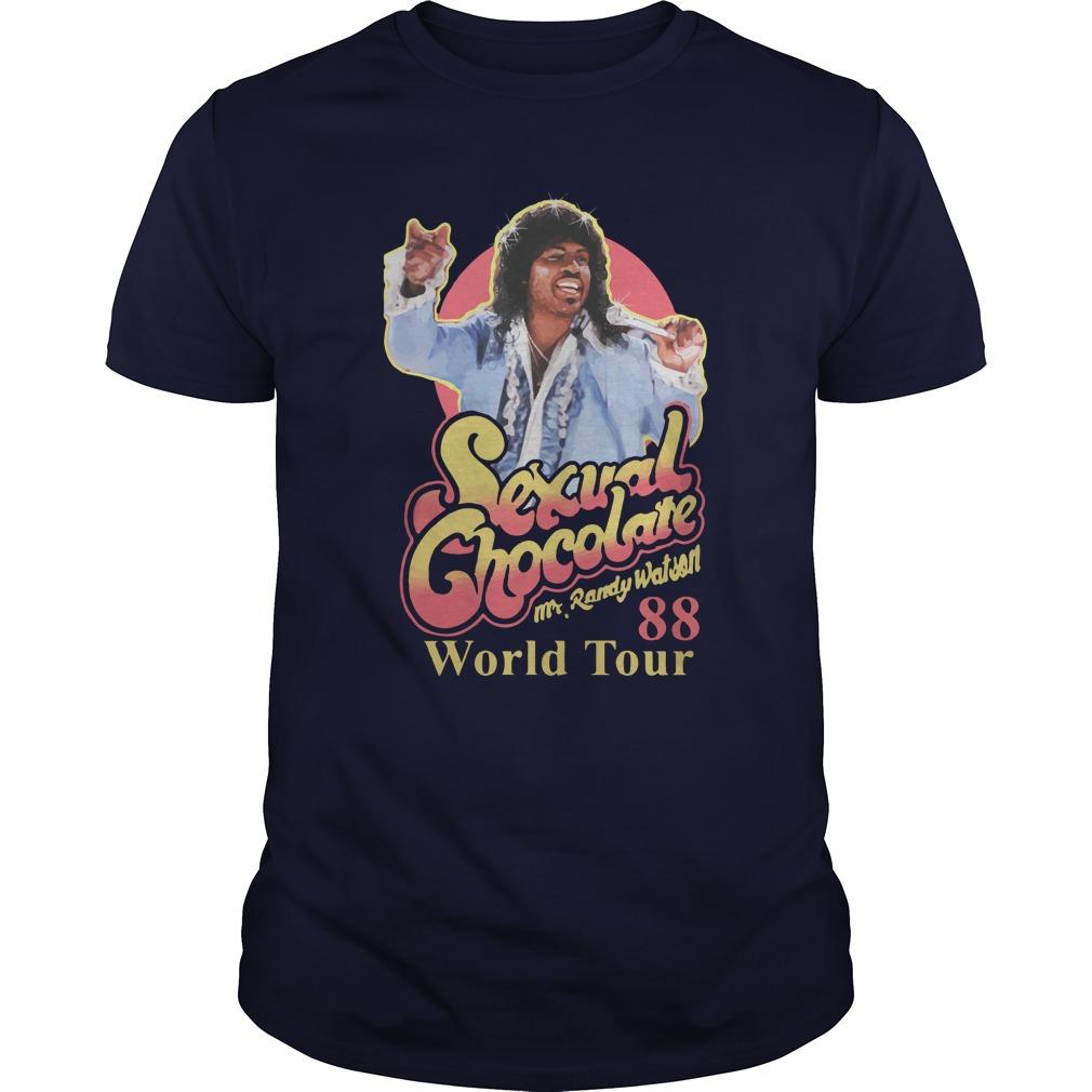 Sexual Chocolate Mr.randy Watson 88 World Tour Guys shirt