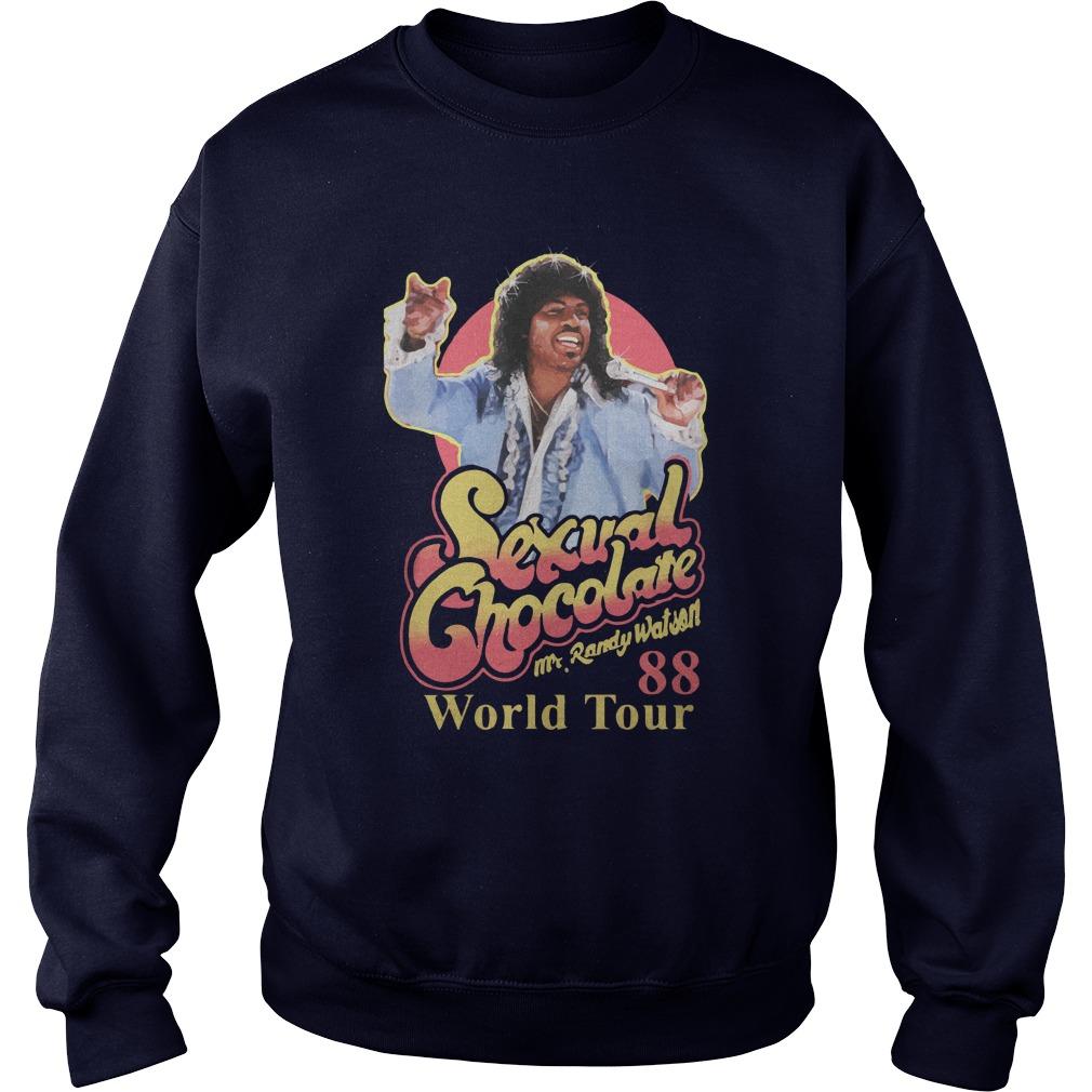 Sexual Chocolate Mr.randy Watson 88 World Tour Sweater