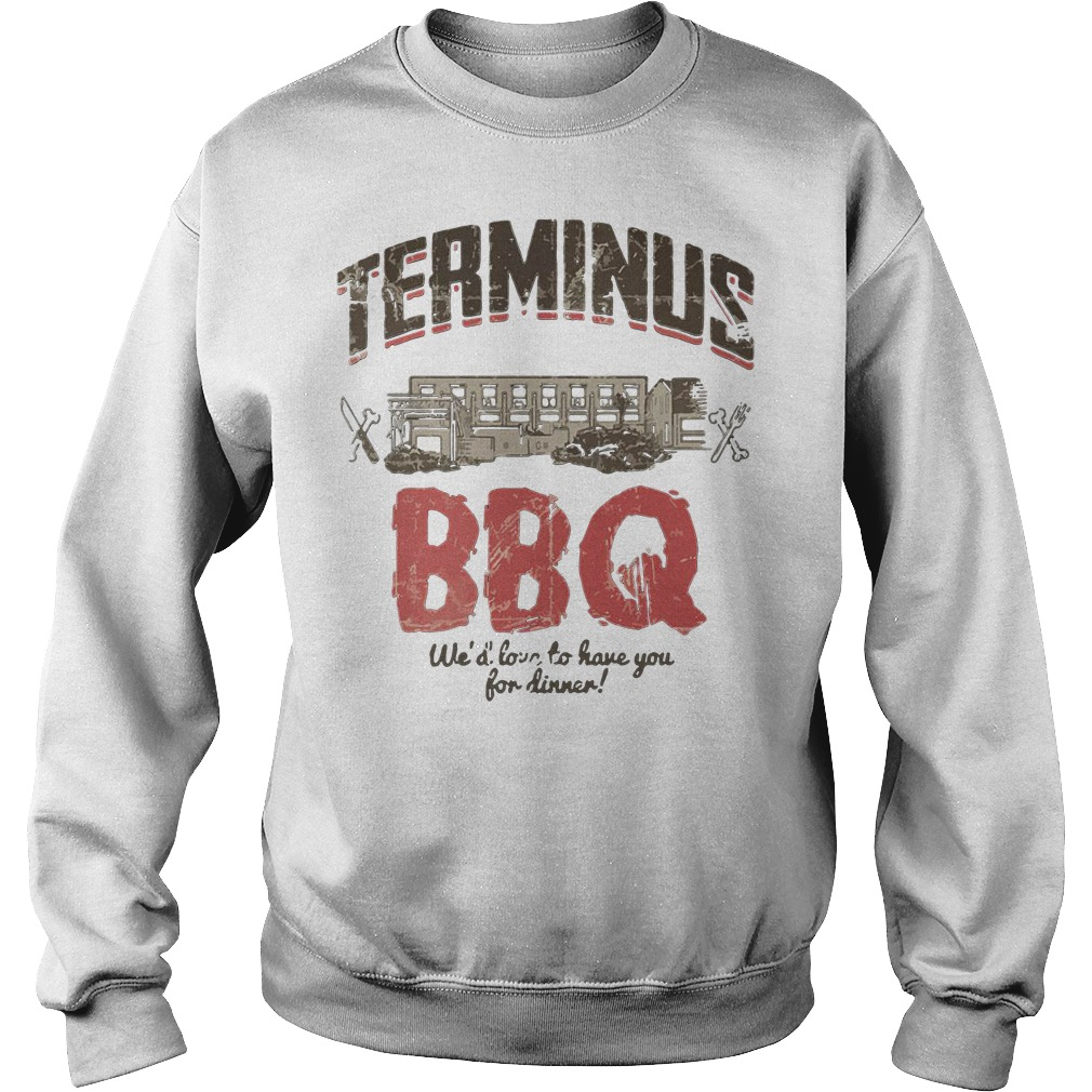 Terminus Bbq We'd Love To Have You For Dinner Sweater