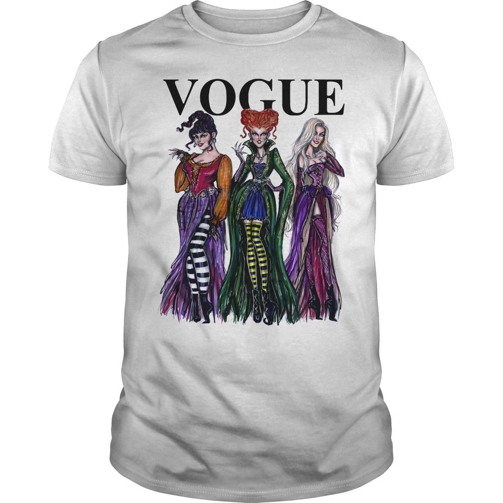 Hocus Pocus Vogue Guys Shirt