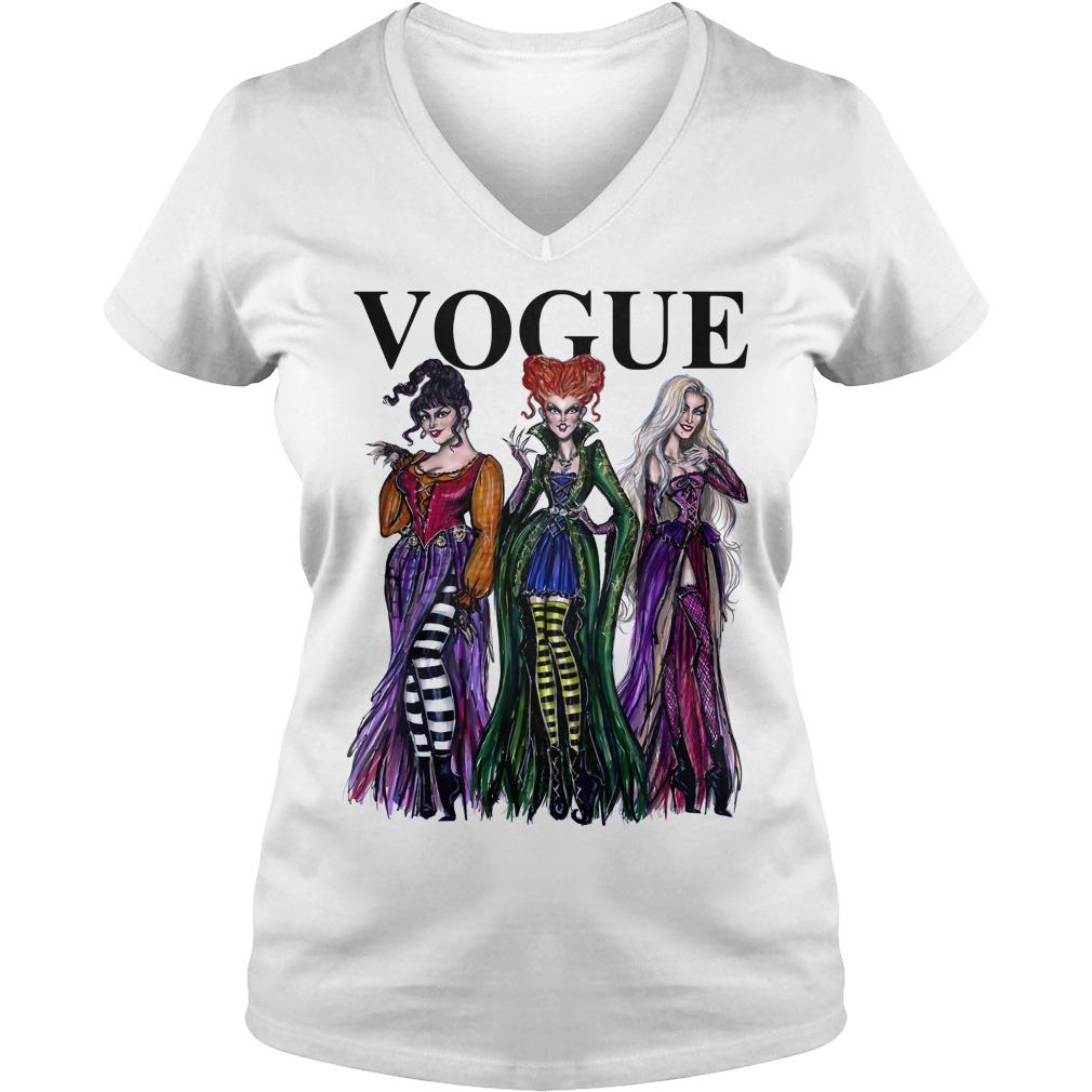 Hocus Pocus Vogue V-neck T-shirt