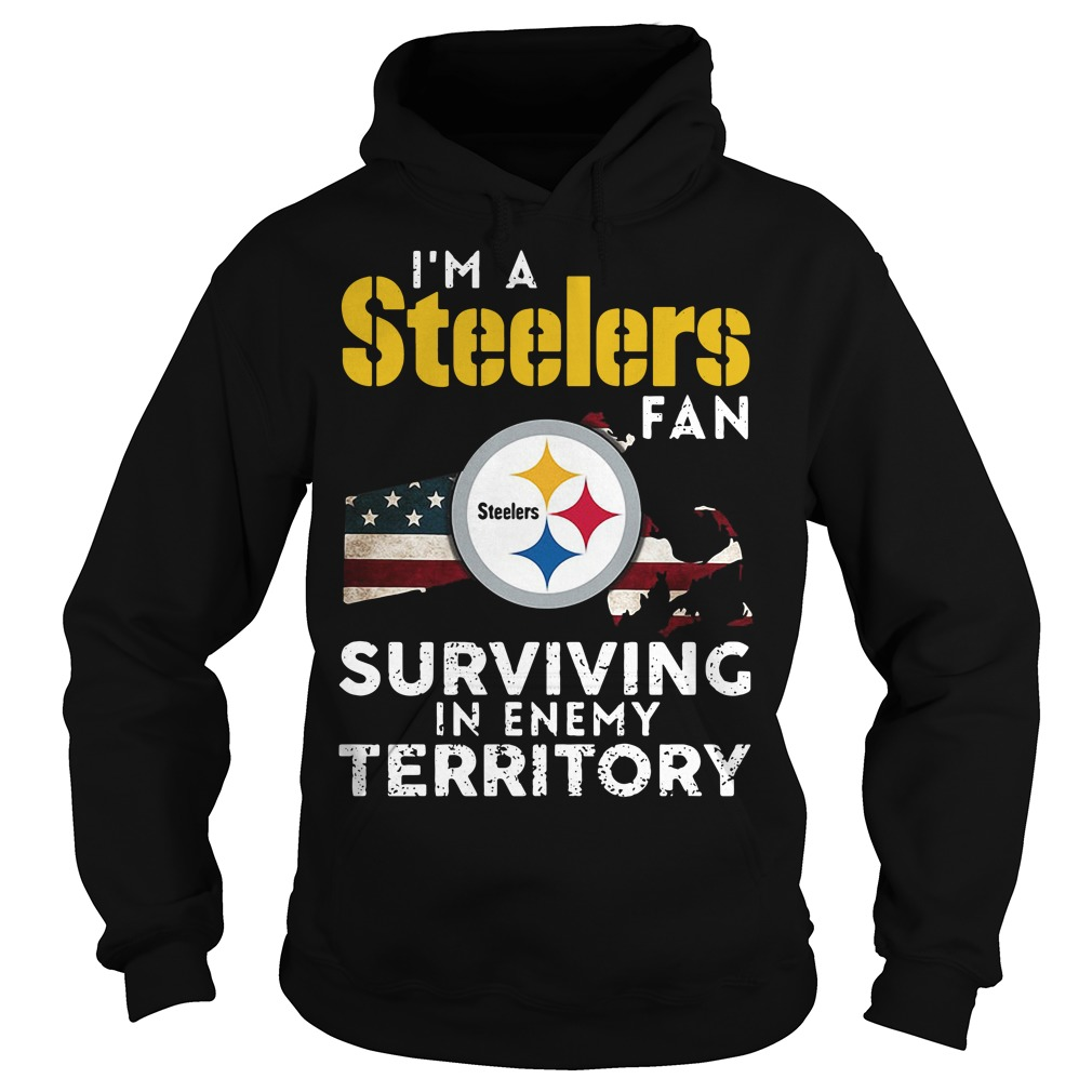 I'm A Steelers Fan Surviving In Enemy Territory Hoodie