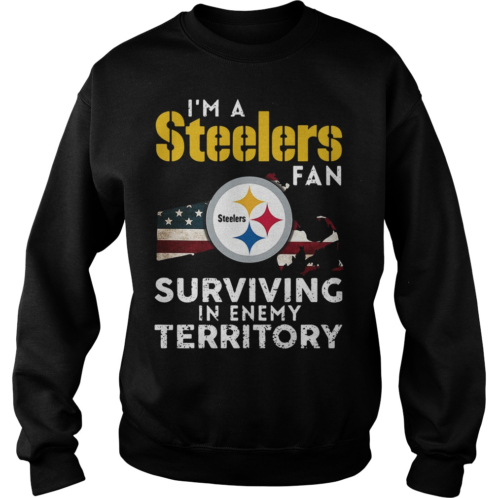 I'm A Steelers Fan Surviving In Enemy Territory Sweater