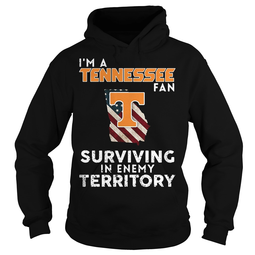 I'm A Tennessee Georgia Fan Surviving In Enemy Territory Hoodie