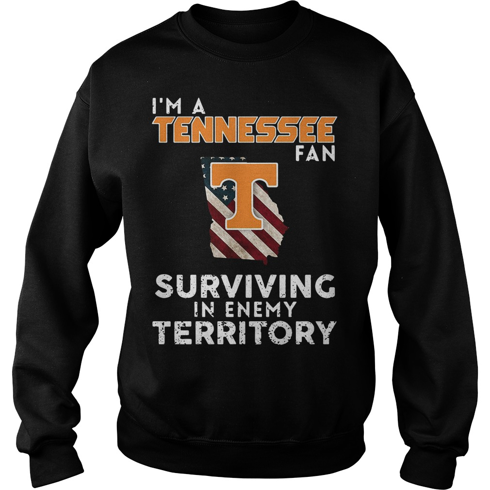 I'm A Tennessee Georgia Fan Surviving In Enemy Territory Sweater