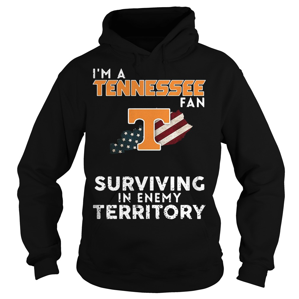 I'm A Tennessee Kentucky Fan Surviving In Enemy Territory Hoodie