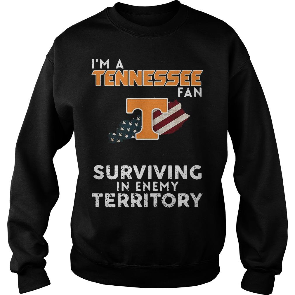 I'm A Tennessee Kentucky Fan Surviving In Enemy Territory Sweater