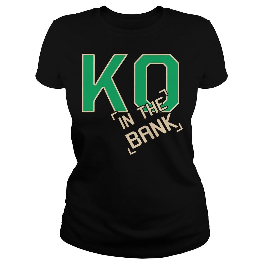 Ko In The Bank Ladies Tee