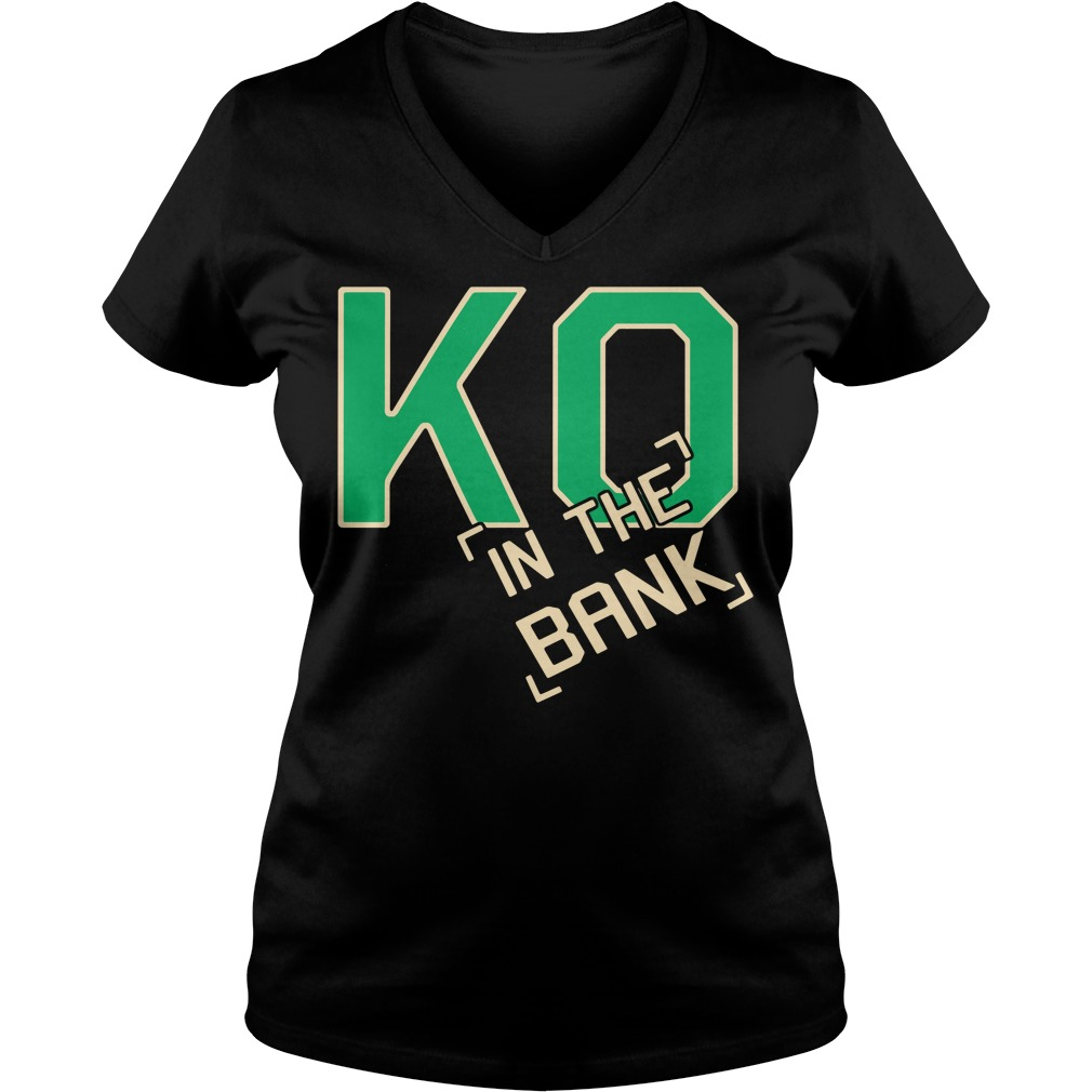 Ko In The Bank V-neck T-shirt