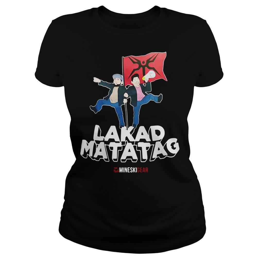 Lakad Matatag Ladies Tee