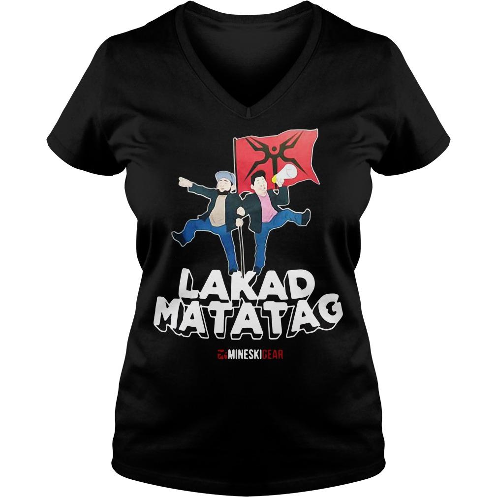 Lakad Matatag V-neck T-shirt