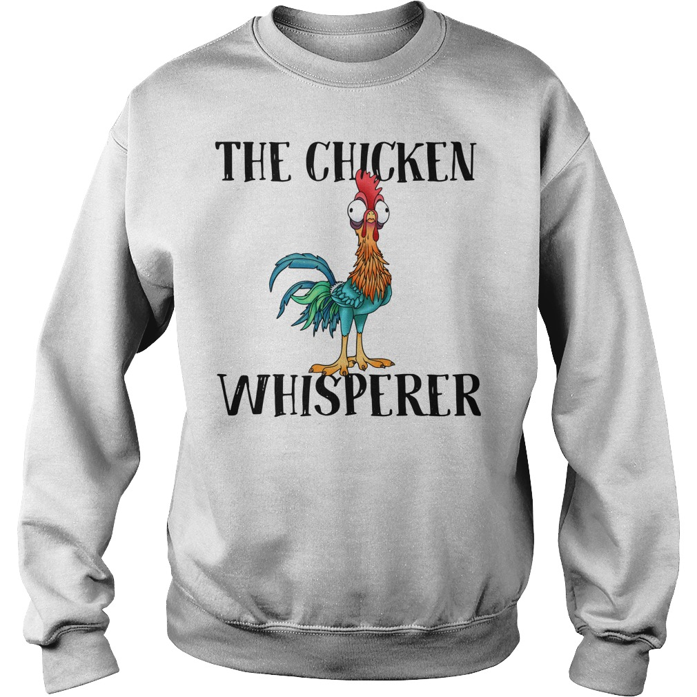 The Chicken Whisperer Hei Hei The Rooster Moana Sweater