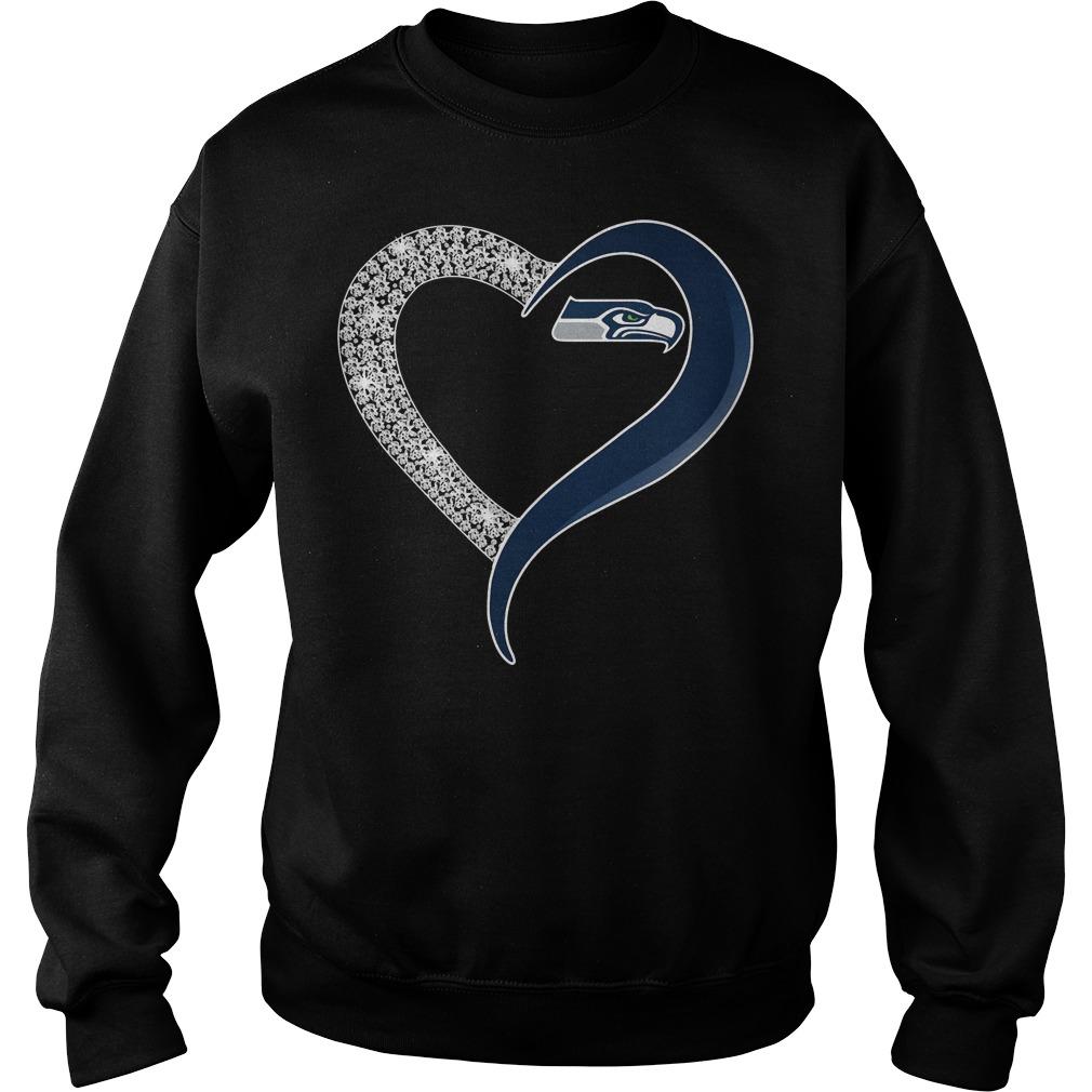 Diamond Seattle Seahawks Love Sweater