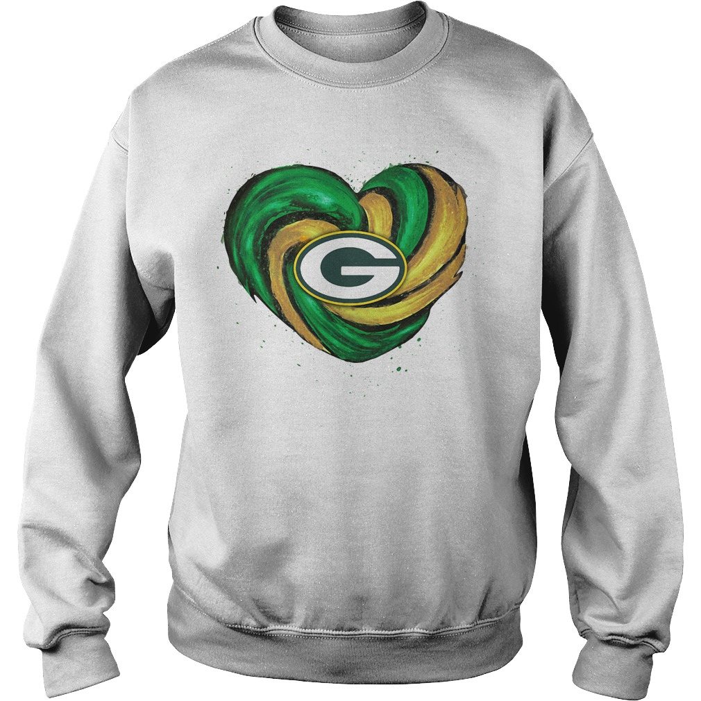 Hurricane Green Bay Packers Love Sweater