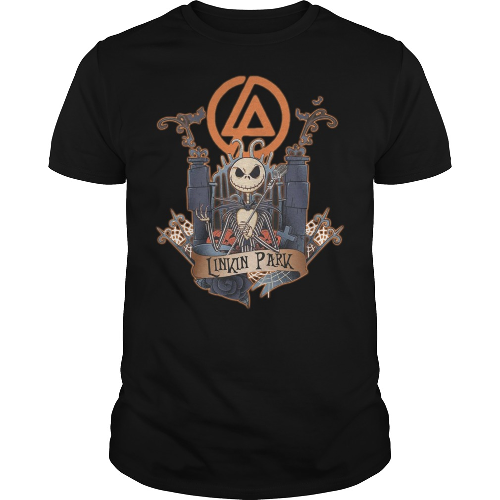 Halloween Jack Skellington Linkin Park Shirt