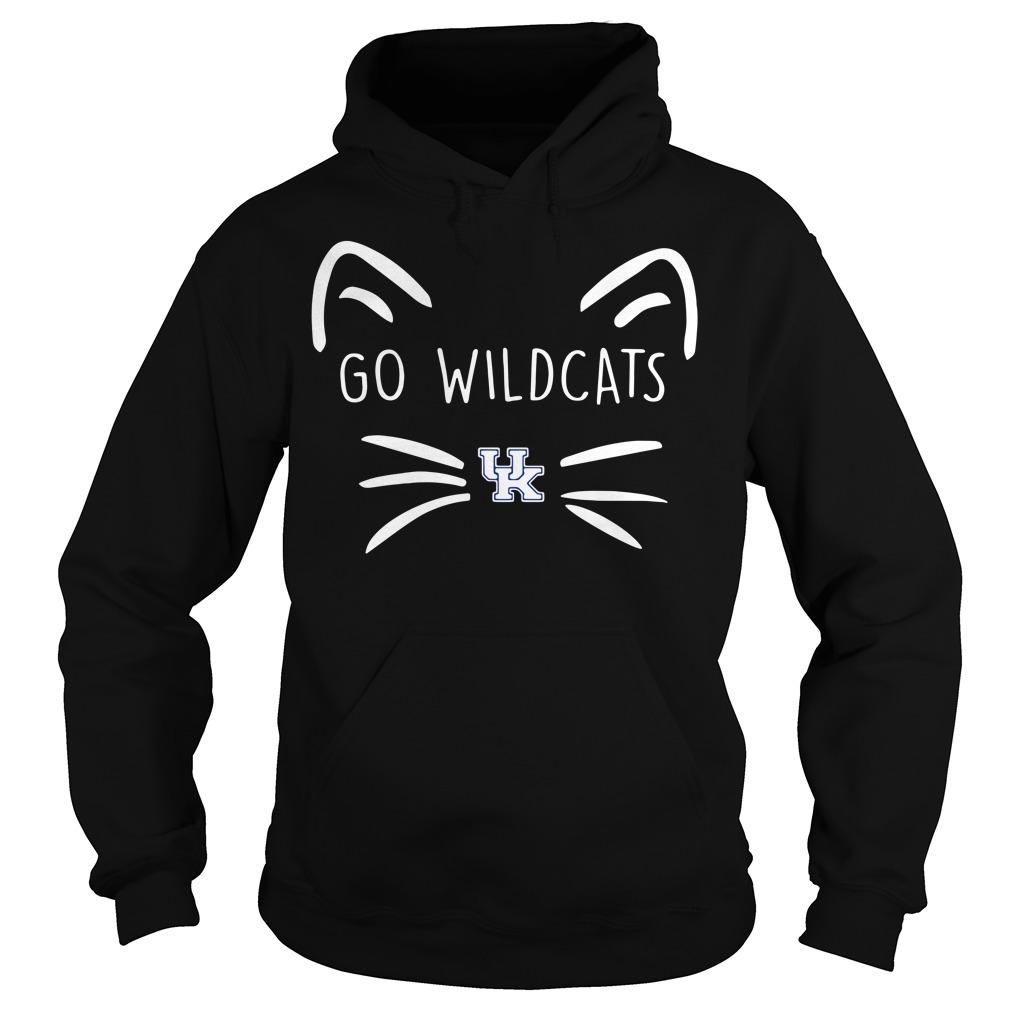 Kentucky Wildcats Cat Go Wildcats Hoodie