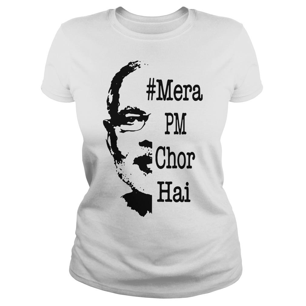Mera Pm Chor Hai Ladies Tee