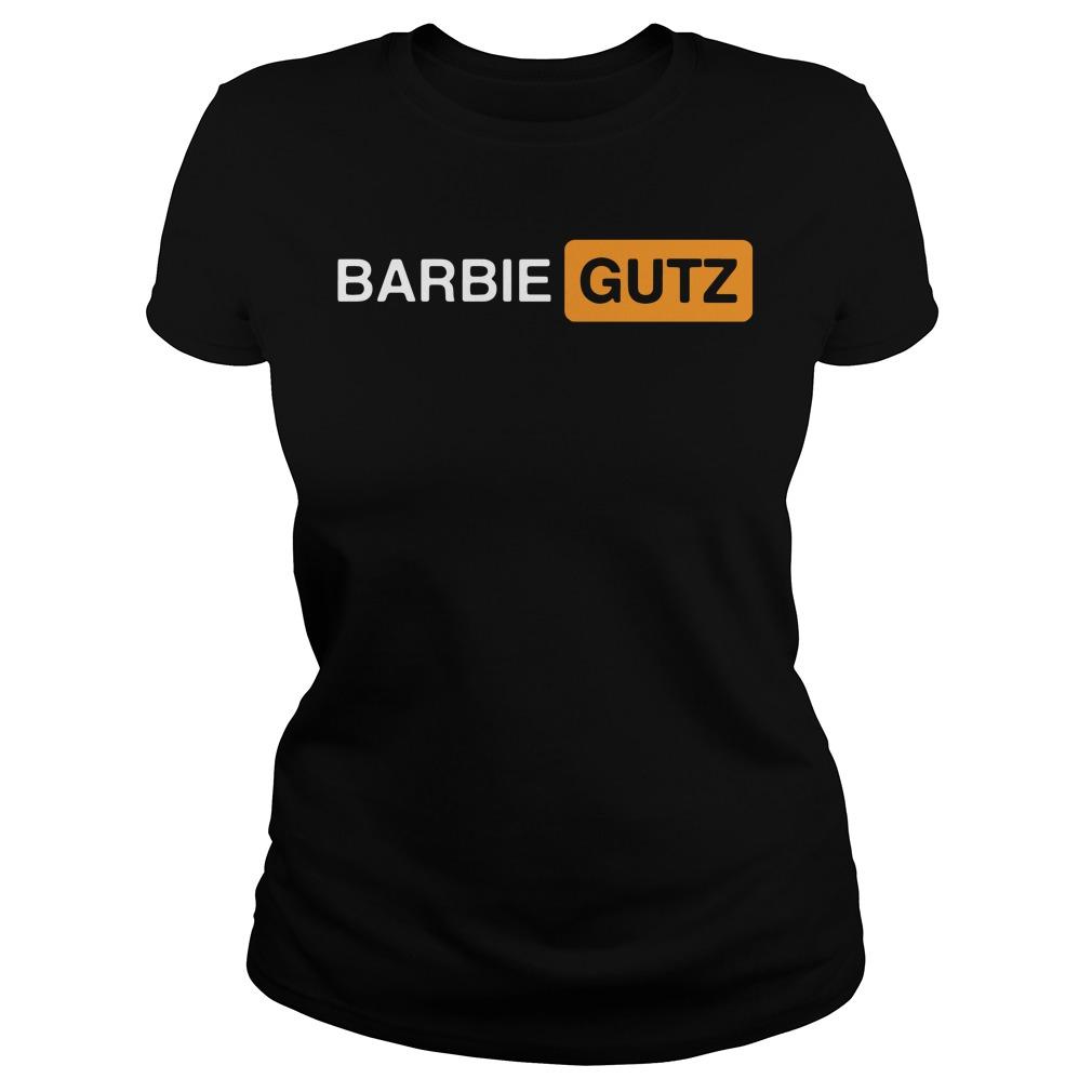 Pornhub Barbie Gutz Ladies Tee