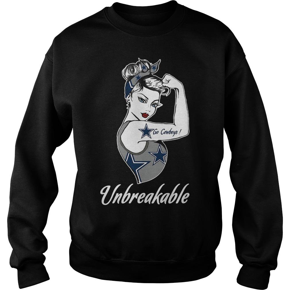 Go Dallas Cowboys Unbreakable Sweater