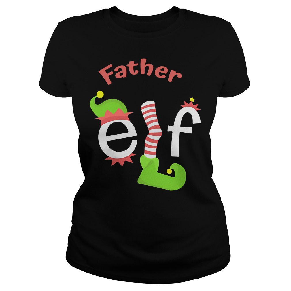 Father Elf Christmas Ugly Sweater