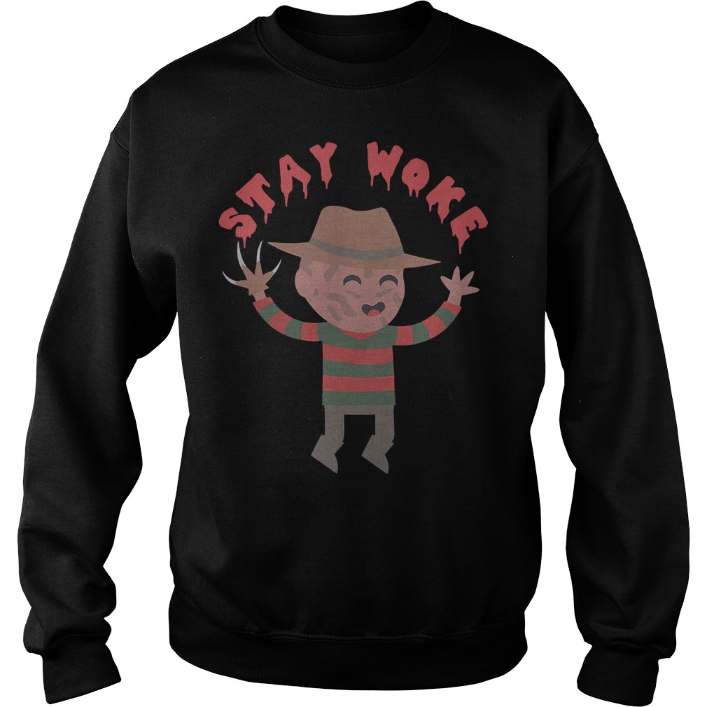 Freddy Krueger Stay Woke Sweater