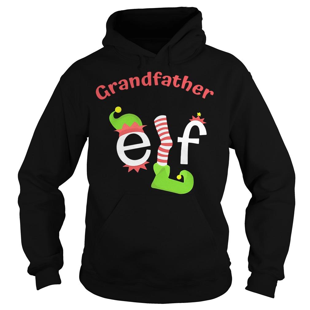 Grandfather Elf Christmas Ugly Hoodie