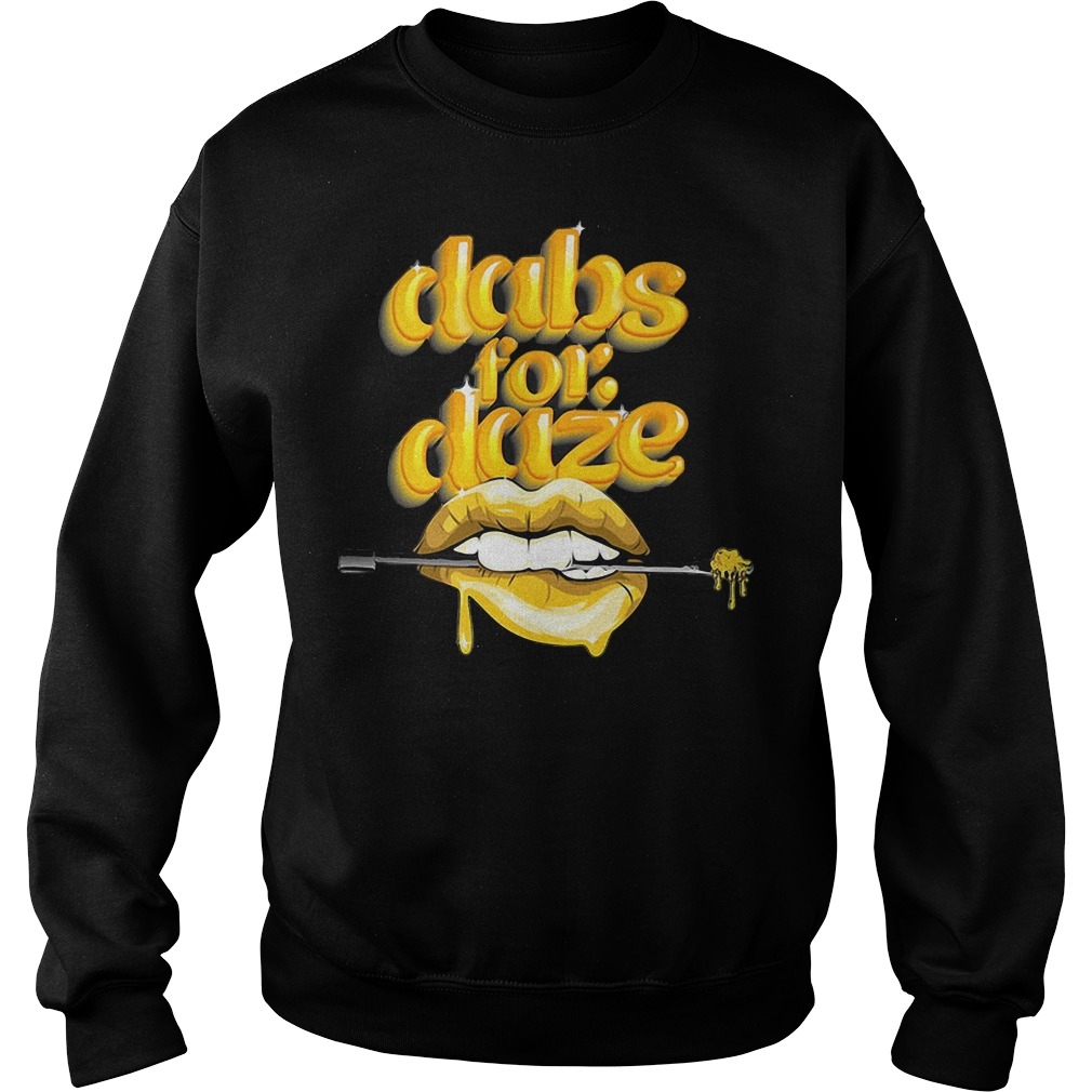 Lip Dabs For Daze Sweater