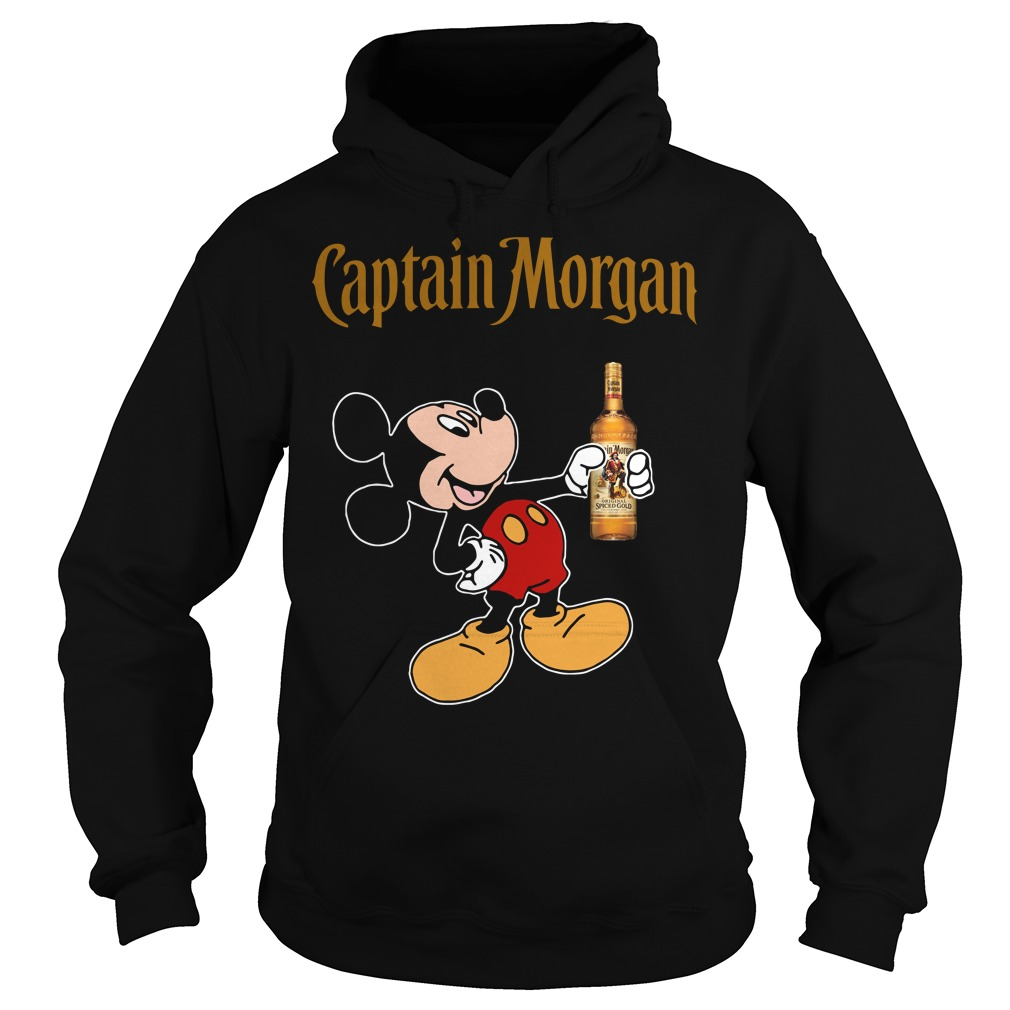 Mickey Mouse Captain Morgan Hoodie
