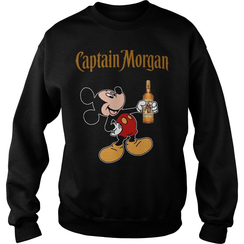 Mickey Mouse Captain Morgan Sweater