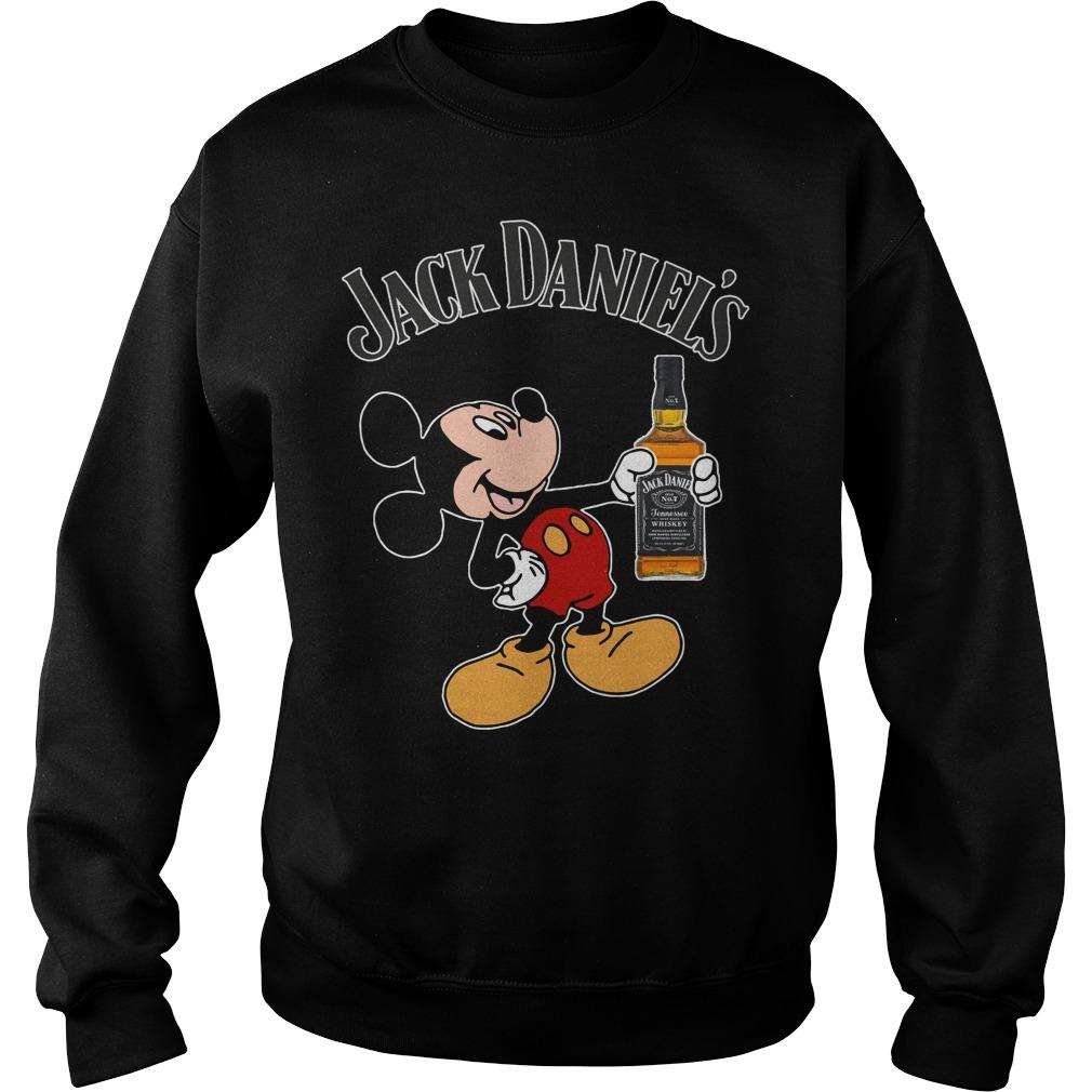 Mickey Mouse Jack Daniel's Sweater