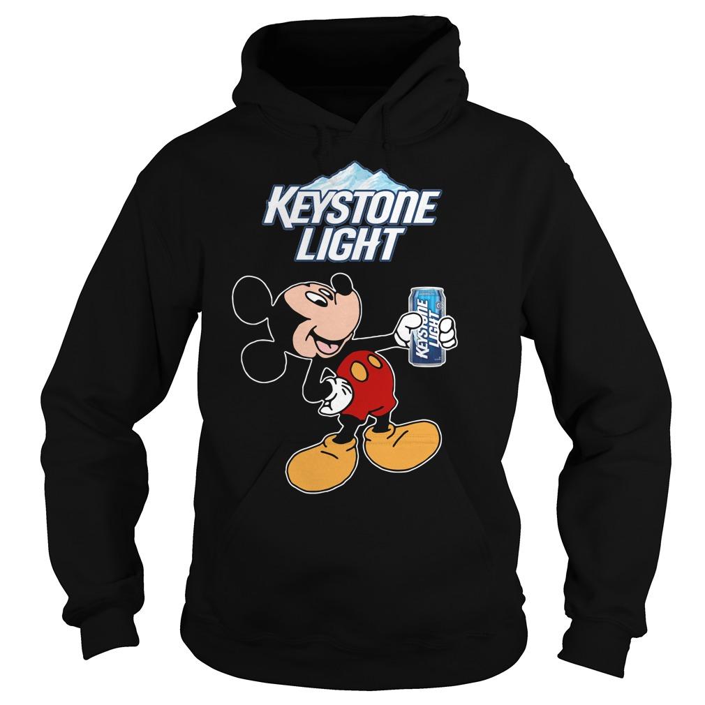 Mickey Mouse Keystone Light Hoodie