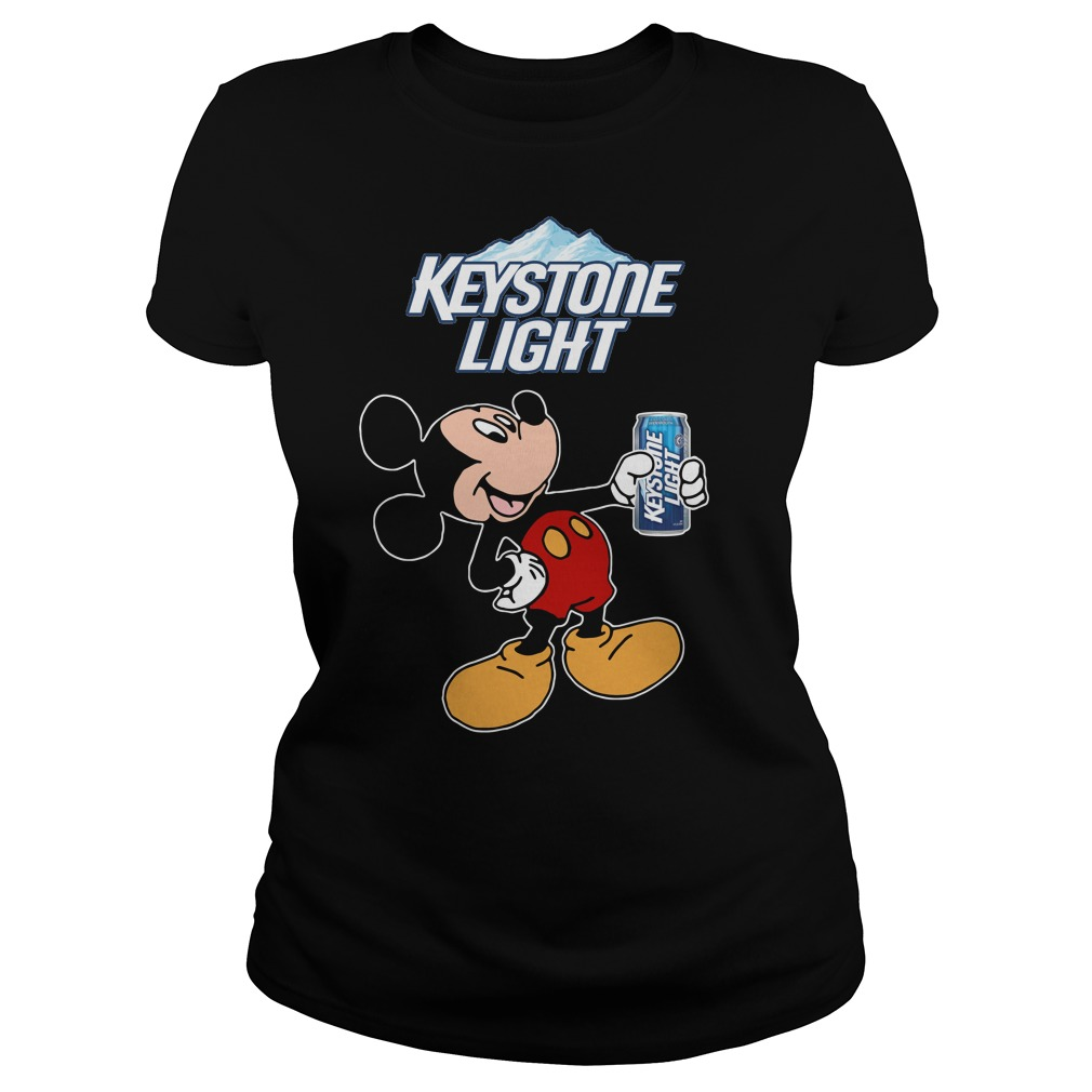 Mickey Mouse Keystone Light Ladies Tee