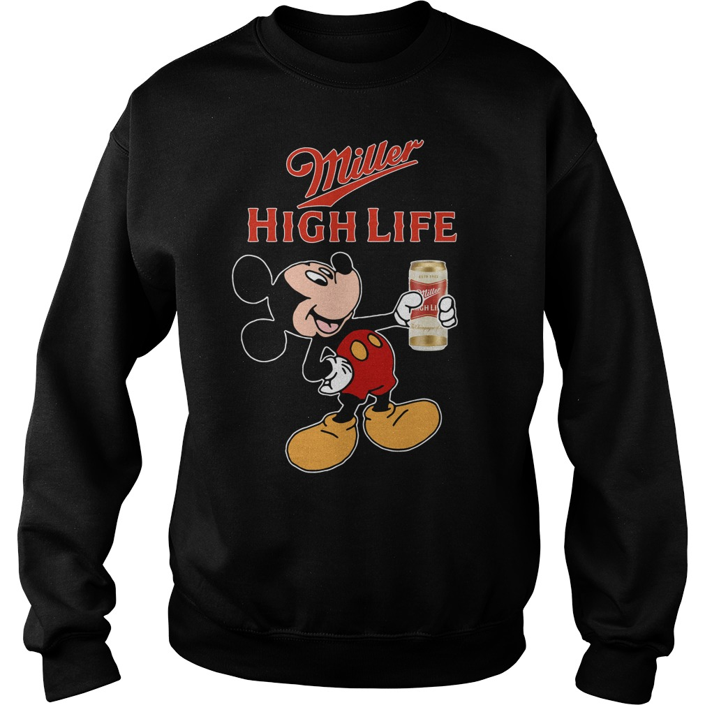 Mickey Mouse Miller High Life Sweater