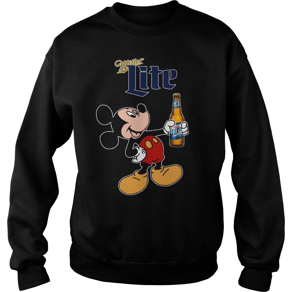 Mickey Mouse Miller Lite Sweater