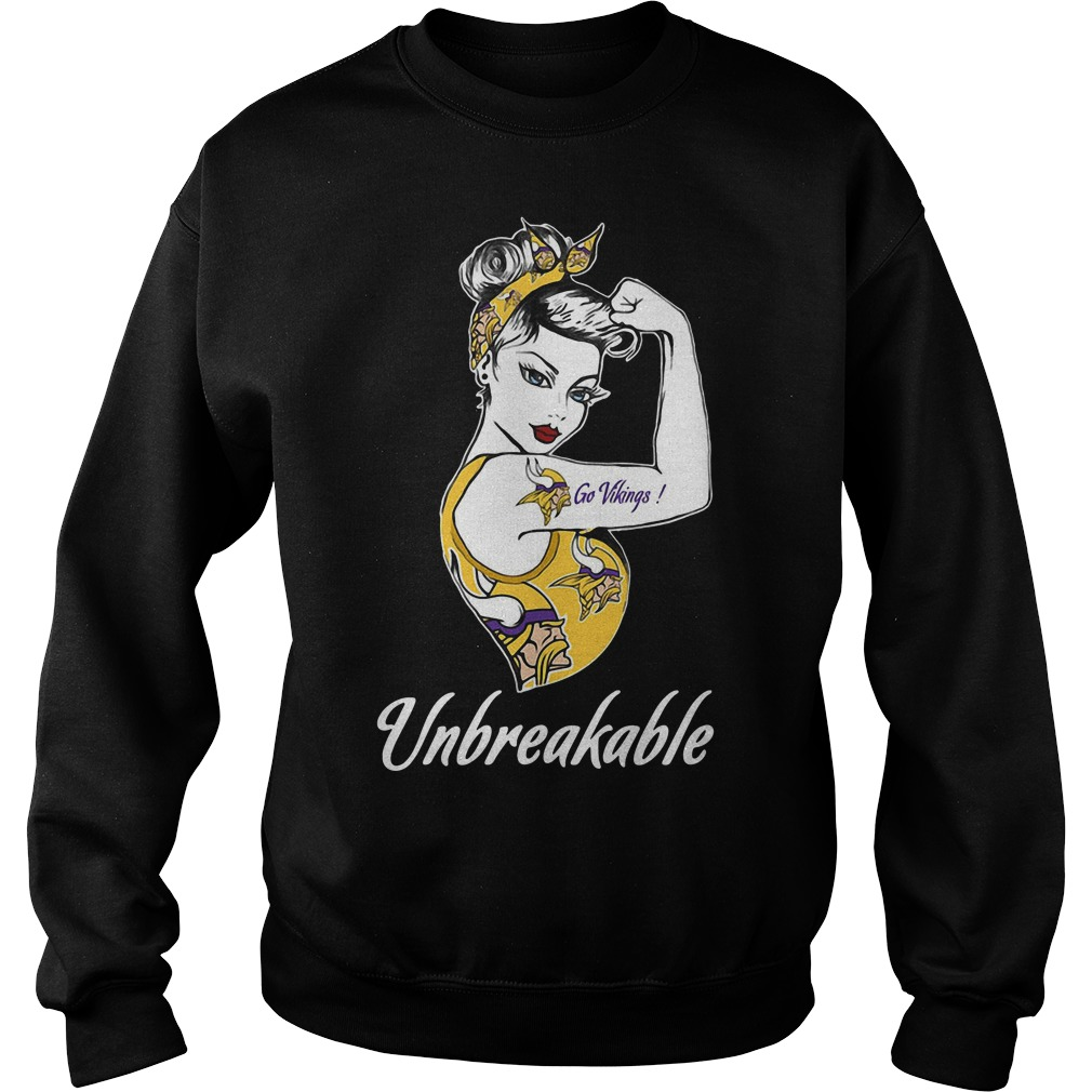 Minnesota Vikings Unbreakable Woman Sweater
