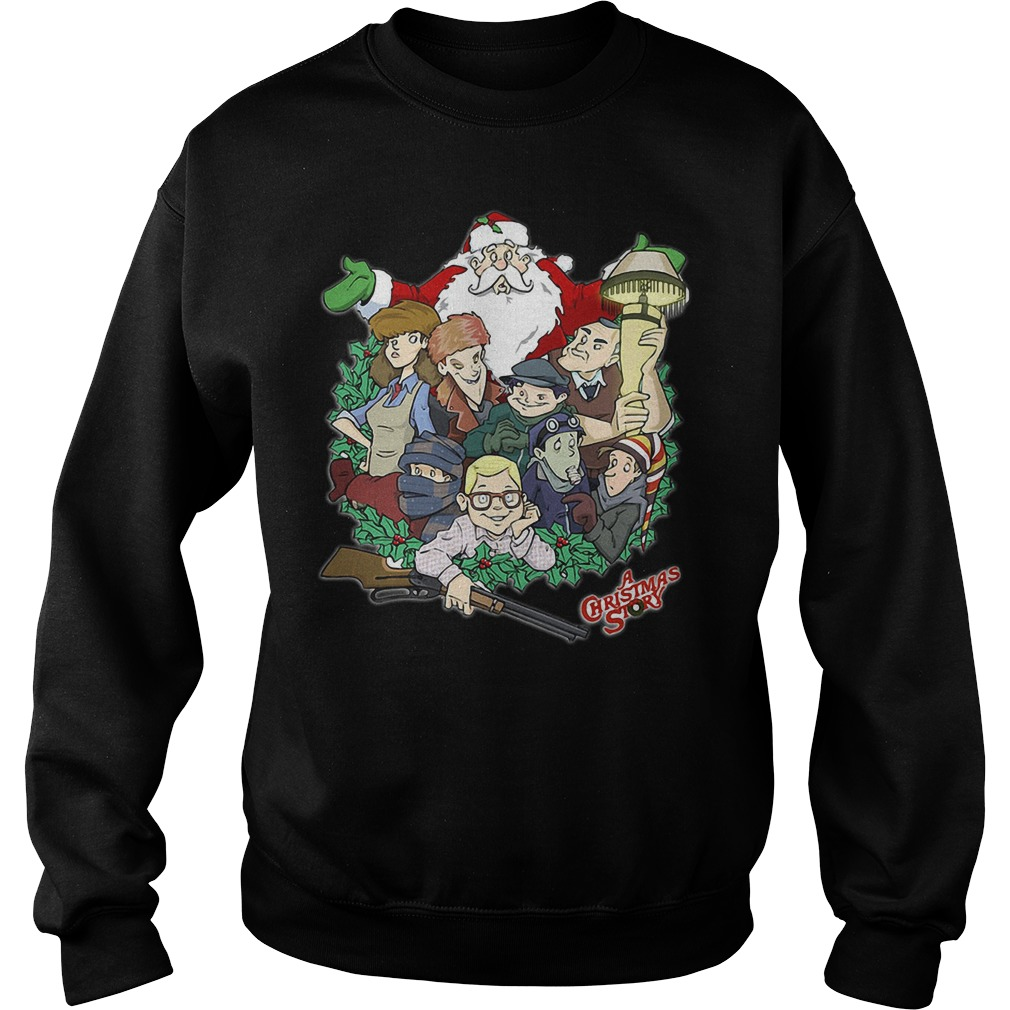 A Christmas Story Movie Clipart Sweater