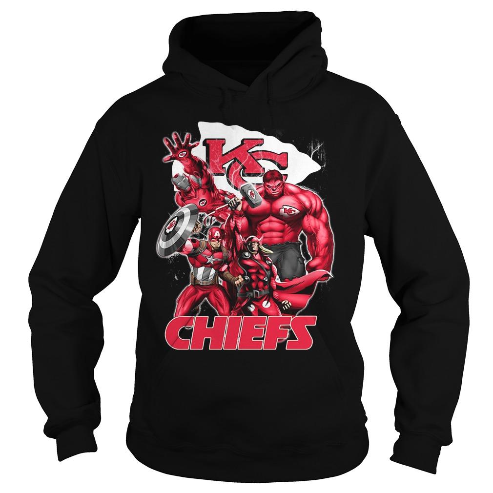 The Avengers Kansas City Chiefs Hoodie