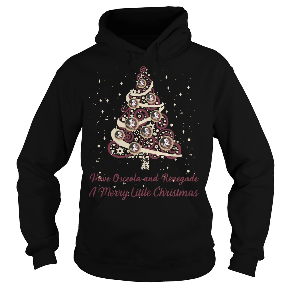 Florida State Seminoles Osceola Renegade Merry Little Hoodie