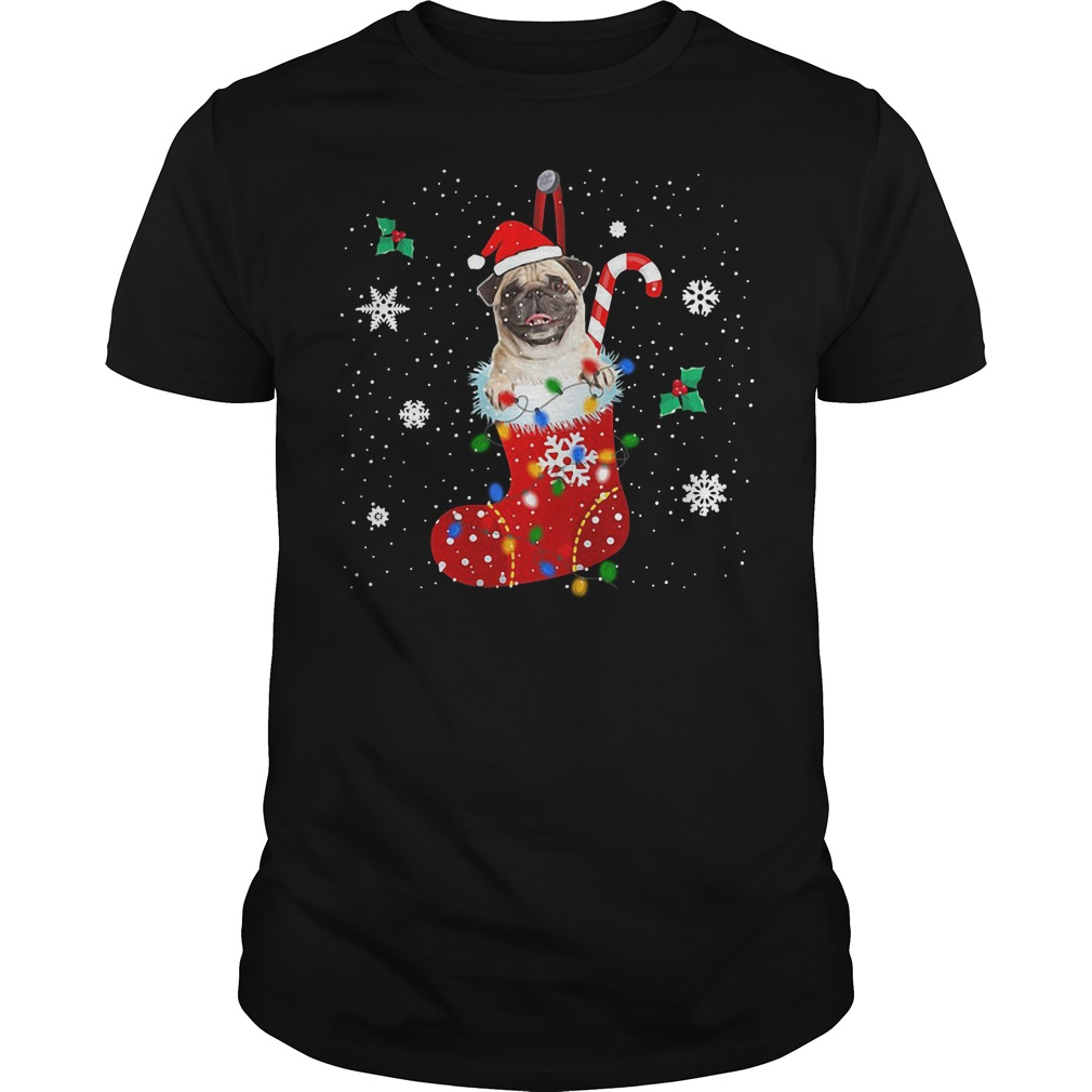 Pug Christmas Ugly Guys Shirt